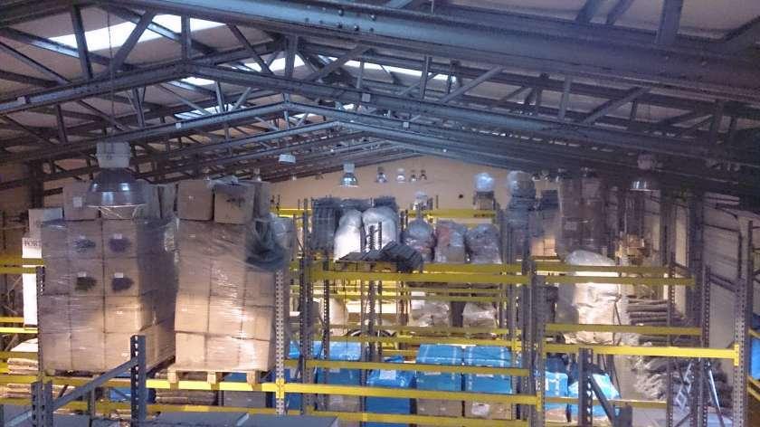 Romfracht - clădire de birouri şi hală - montare sistem detecţie incendiu